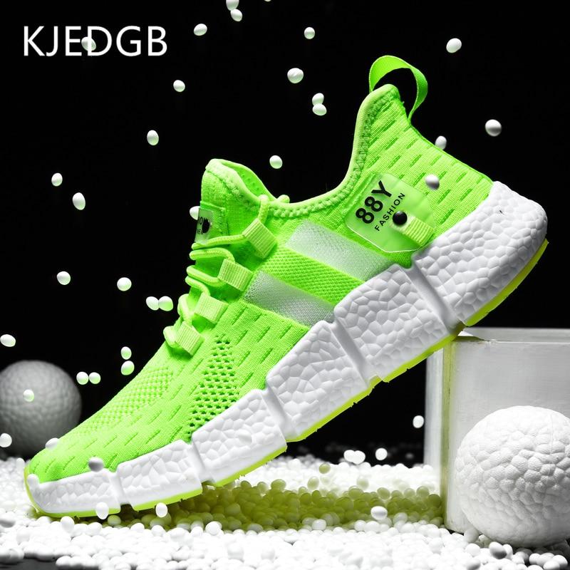 KJEDGB Brand New High quality Men Sneakers Summer 2020 Breathable Mesh Men s Casual Shoes Light