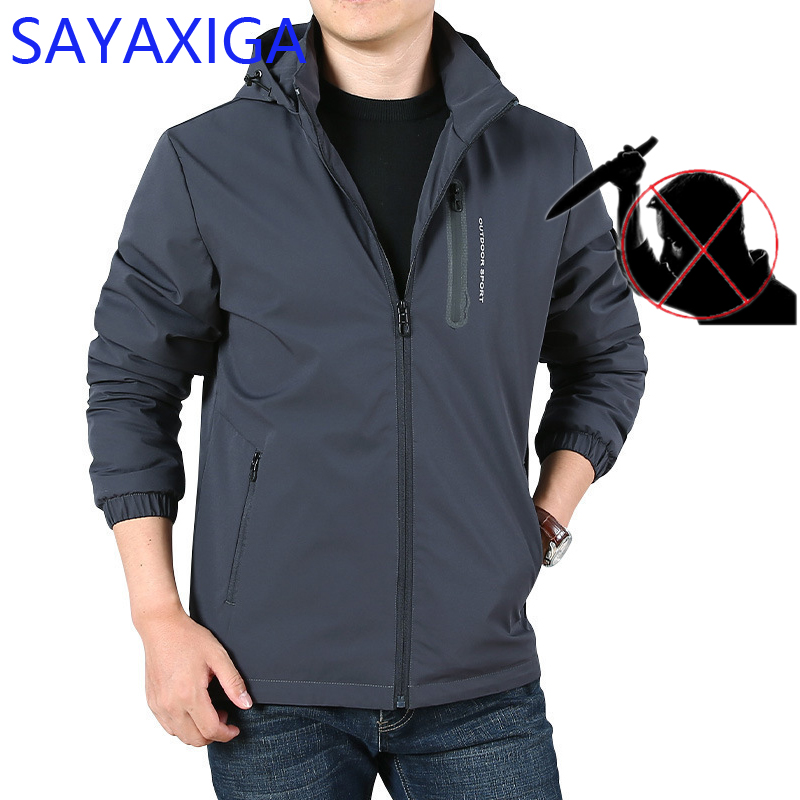 Self-defense Men jacket anti cut stab resistant Civil Using thorn stab proof police bodyguard defense clothing arme de defence