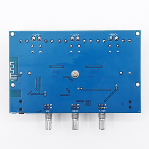Image 5 - UNISIAN Bluetooth 5.0 TPA3116 2.1 Audio Power Amplifier Board 50Wx2+Bass 100W TPA3116D2 HIFI Digital 2.1 Chennels Home Amplifier
