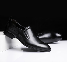 Men Shoes genuine Leather Men #8217 s Loafers Casual Wear-resistant Soft slip on High Quality Bottom Business Shoes Man big size 48 cheap fuhaobang Cow Leather Rubber 6631401 Slip-On Fits true to size take your normal size Solid Breathable Massage Full Grain Leather