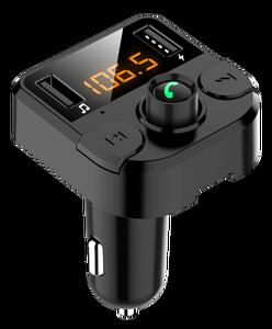 Image 5 - KORSEED Dual USB מטען לרכב עם FM משדר Bluetooth FM מודולטור רכב טלפון מטען עבור iPhone