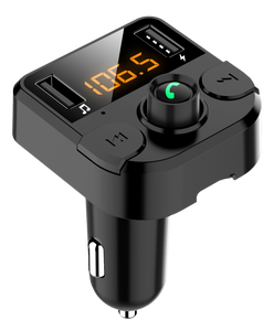 Image 5 - KORSEED Dual USB car charger with FM transmitter Bluetooth hands free FM modulator car phone charger for  iPhone
