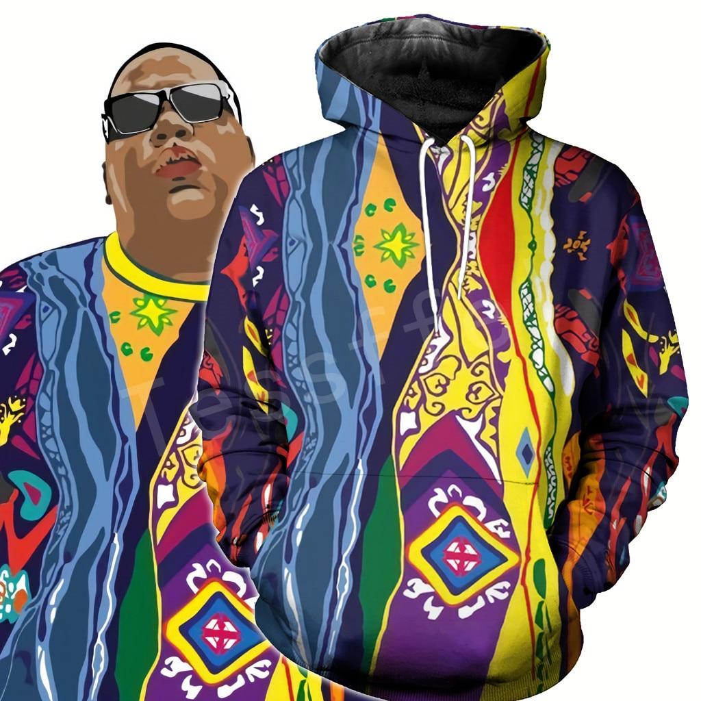 Tessffel Legend Rapper Notorious B.I.G. Biggie Face Hiphop NewFashion 3DPrint Zipper/Hoodies/Sweatshirt/Jacket/Mens Womens s-24