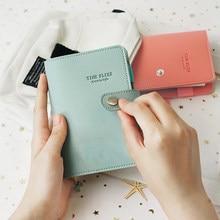 A7 Macaron кожаный спиральный блокнот из искусственной кожи мини карманный блокнот портативный канцелярский дорожный журнал книга