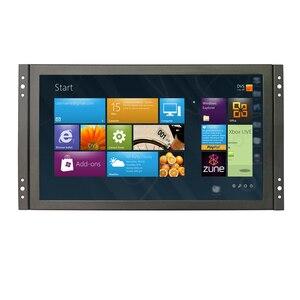 ZHIXIANDA, carcasa de metal industrial integrada, monitor de pantalla táctil con marco abierto de 11,6 pulgadas, con VGA DMI USB