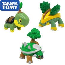 Takara tomy pokemon фигурка Подлинная японская версия mc turtwig