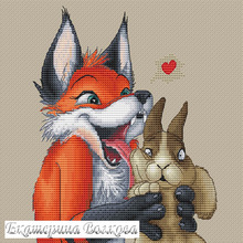 Needlework-Sets Cross-Stitch-Kits Embroidery Counted 18CT 11CT Chinese 14CT Fox DIY And