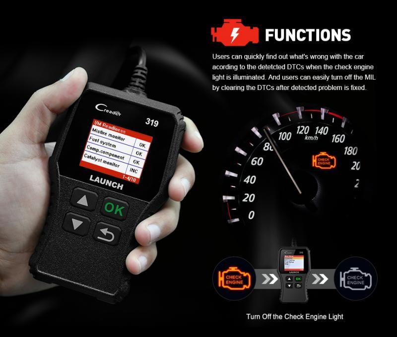 NEW OBD2 Automotive Scanner EOBD OBD Car Diagnostic Tool OBD2 Engine Check Code Reader Multi Scanner Car Diagnostic Tools