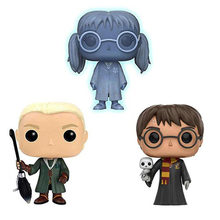 Funko POP Harry Potter Myrtle Merana Draco Malfoy Bella Moody Sosok Koleksi Vinyl Model Boneka Mainan(China)