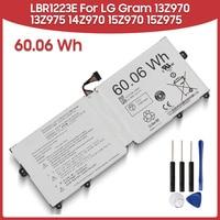 Original Replacement Battery 60.06Wh LBR1223E For LG Gram 13Z970 13Z975 14Z970 15Z970 15Z975 60.06Wh Laptop Batteries
