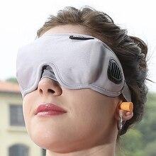 High-Grade Fabric EyeShade Portable Sleeping Eye Mask Eyepatch Padded Shade Cover Eye Mask Night Rest Blindfold Sleep Bandage недорого