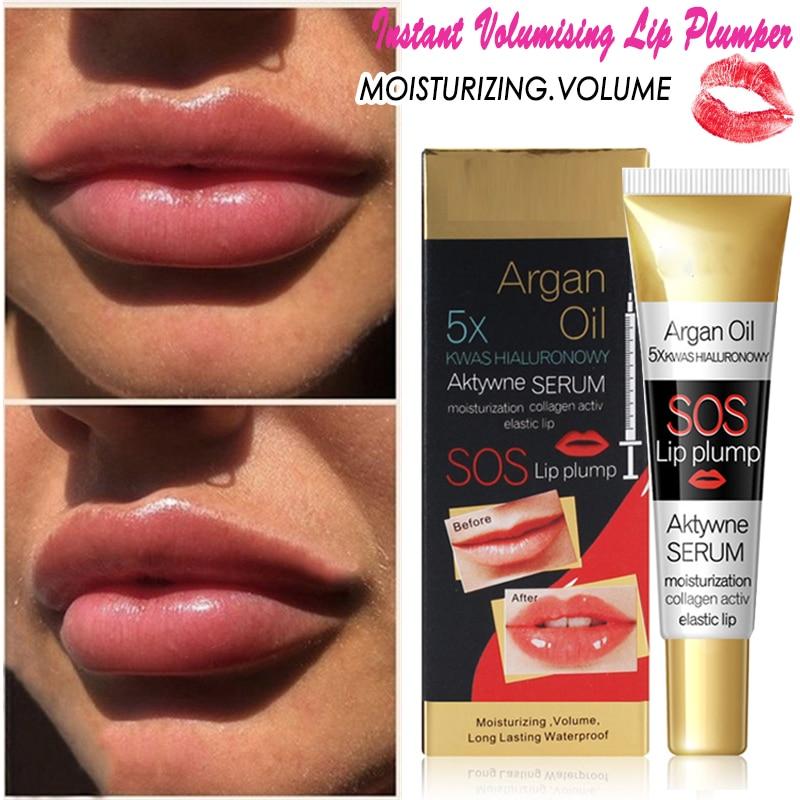 Karite губ Maximizer SOS увеличитель губ масло карите губы увлажняющий увеличитель губ блеск для губ Argain масло Сыворотки Увлажняющий блеск для губ
