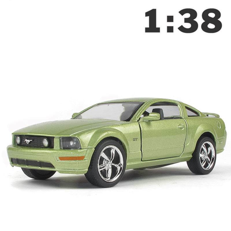 Kinsmart <font><b>2006</b></font> <font><b>Mustang</b></font> <font><b>GT</b></font> 1:38 5Inch Diecast Metal Alloy Cars Toy Pull Back Car As Gift For Kids image