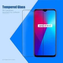 Vidro temperado para realme c3 xt x2 pro x protetor de tela para realme c11 u1 q c2 c1 transparente à prova de choque hd filme traseiro duro
