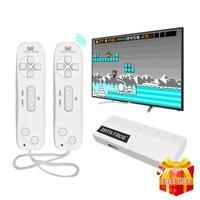 USB Беспроводная портативная ТВ игровая консоль встроенный в 620 Классический 8 бит игровой мини консоль двойной геймпад AV выход