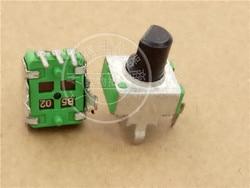Potenciómetro Vertical individual, 15 Uds., para JJS 09, B502 B5K/longitud de la manija 8MMF, color verde