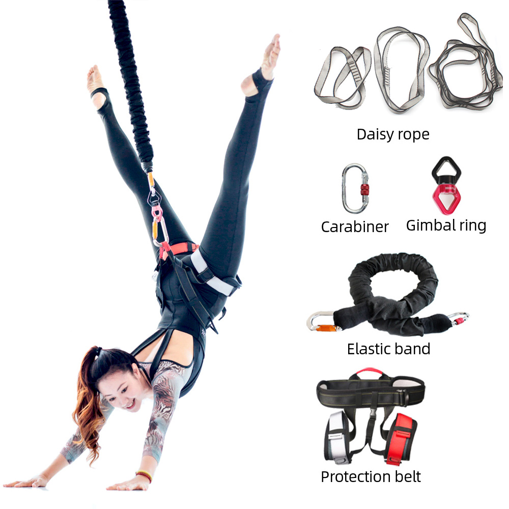 Permalink to New High Strength Bungee Exercise Full Set For Home Gym Yoga Gravity Bungee 4D Training Pro Tool bungee dance fitness workout