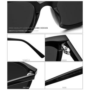 Image 3 - HEPIDEM Brand New Korean Design Women Gentle Sunglasses Cat Eye Sunglass Men Oversized Sun glasses for Women gm Jack Bye