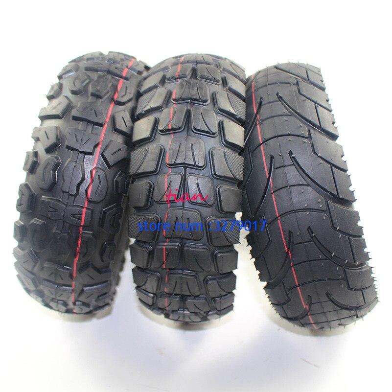 Neumático de carretera todoterreno, rueda de tubo interno inflable para patinete eléctrico, 10x3 pulgadas