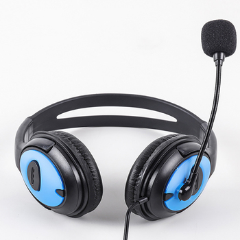 New Headphones Headset Stereo Headphone Gaming Earphones with Microphone for PC Mobile Phone Mp3 TV Music Game Sports Earphone best computer gaming headset with microphone xiberia x13 virtual 7 1 channel headband stereo game headphone ecouteur for pc game