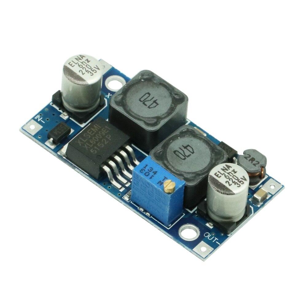 Xl6009 DC-DC boost buck ajustável step up down conversor módulo de tensão solar