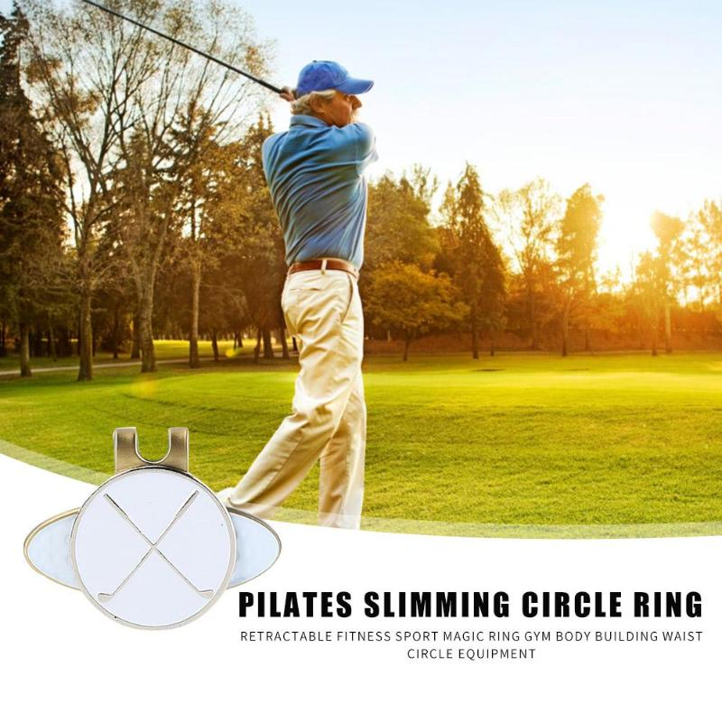 Hot Sale Hat Clip Multi-function Hit Color Golf Cap Hat Clip Golf Ball Aiming Marker Alloy Golf Mark Training Accessories