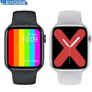 Smart-Watch Face Long-Standby IWO DIY Ip68 Waterproof Wireless-Charger W46 Better W26