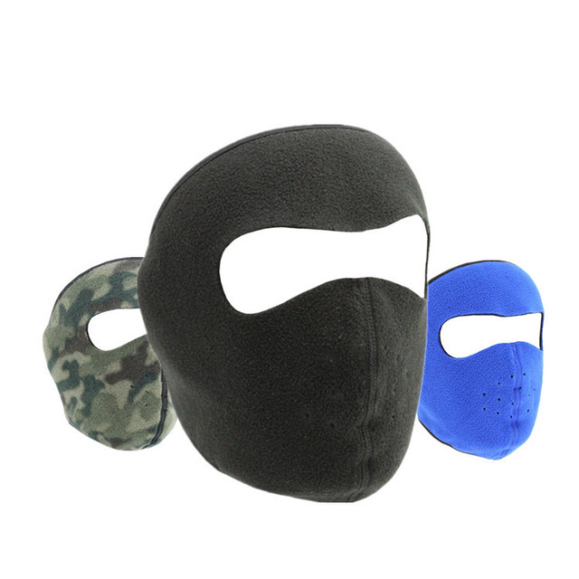 Balaclava Winter Outdoor Neck Motorcycle Face Mask Face Shield Tactical Mask Warm Ski Snowboarding Wind Cap Police Cycling 1