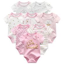 8 комплектов/партия детские комбинезоны высокого качества одежда