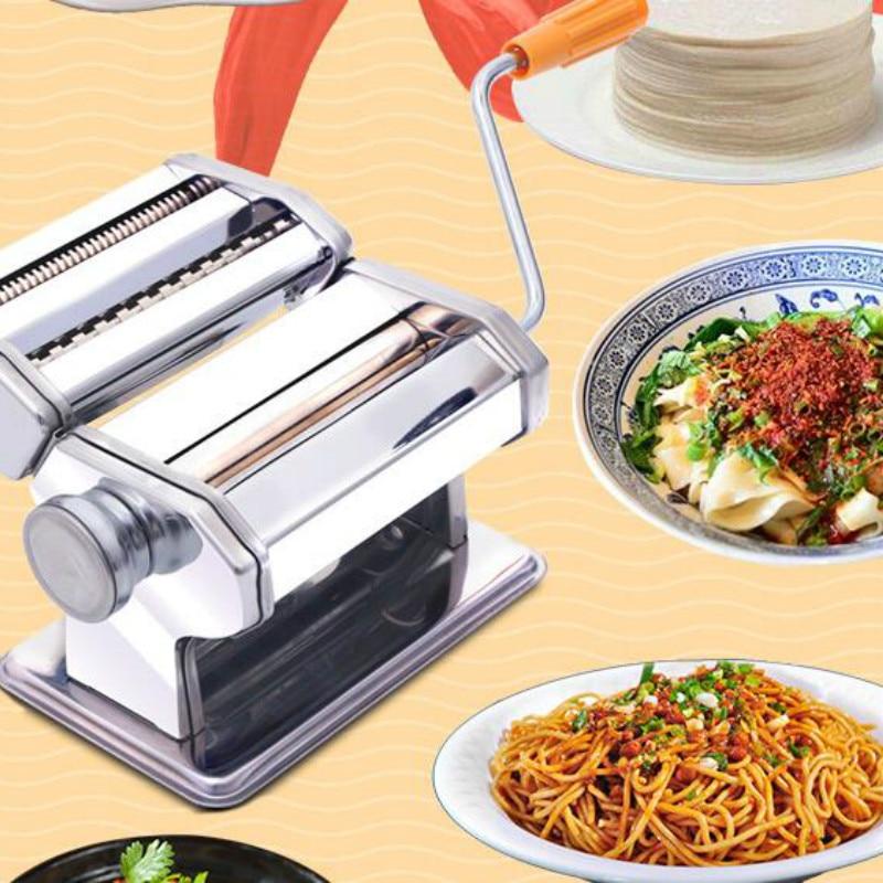 Tragbare Edelstahl Handwerk Polymer Clay Roll Maschine Drücken Roller Hand Gekröpft Handgemachte Presse Pasta Werkzeuge Nicht MJ72212