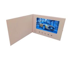 Image 2 - 7インチ液晶画面8ギガバイトboolletユニバーサルビデオグリーティングカードファッションデザインプレーヤー見てパンフレット結婚式のためのギフト誕生日