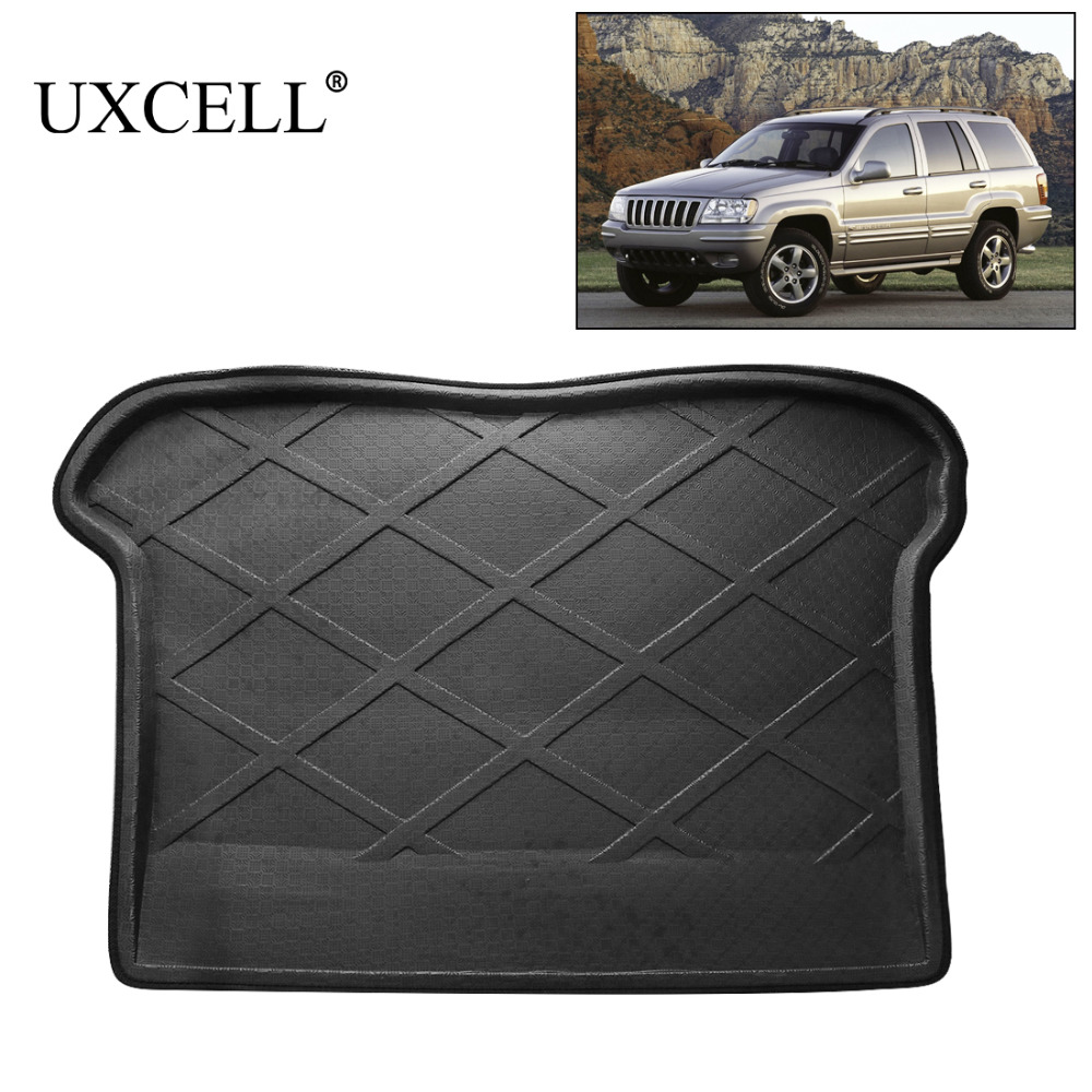 UXCELL PE+EVA Foam Plastic Rubber Rear Car Trunk Cargo Tray Cover Floor Carpet Mat For Jeep Grand Cherokee And Cherokee Compass