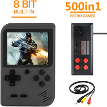 Retro Game Video Game Console Built-in 500 Classic Games 3 Inch Handheld Game Players Portable Pocket Mini Arcade Games Console