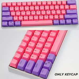 Image 5 - 104/87 Key PBT Double Color Backlight GK61 Mechanical Keyboard Keycap For ANNE Ikbc Cherry MX Mechanical Keyboard