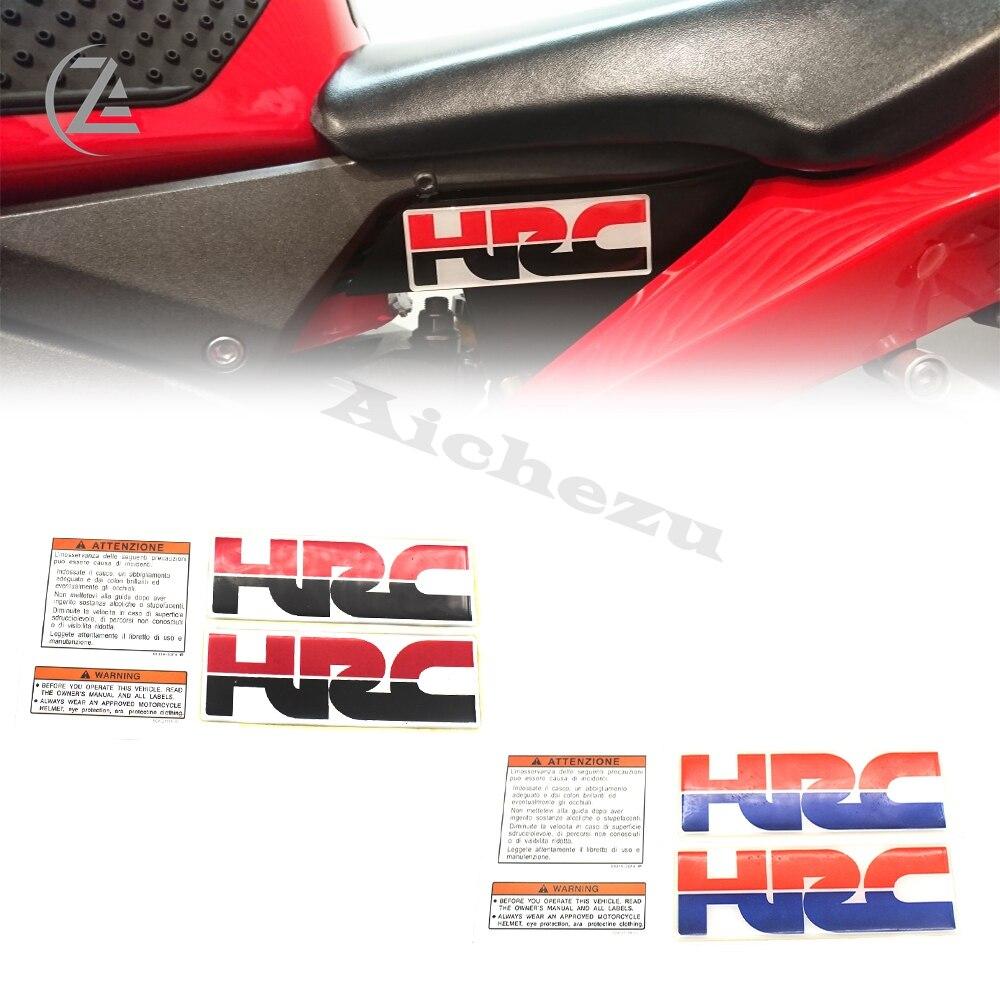 ACZ Motorcycle Sticker Decorative Fuel Tank Decal HRC 3D Stickers Decals For Honda CBR 600 900 929 954 1000 RR F2 F3 F4 F4I F5