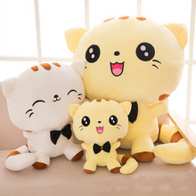 Big face cat doll plush toy large cat pillow chi s cheese cat private sweet cat papa big eyes cat plush toy doll kids toy home pillow