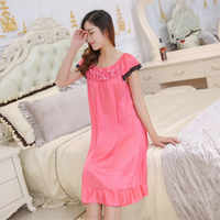 Пижамы фабрика летние сексуальные пижамы без женщин слинг вискозная Ночная рубашка Кружева искушение подтяжки платье