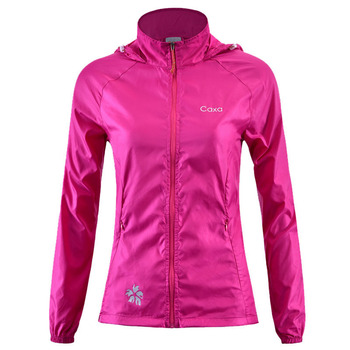 Outdoor Women Quick Drying Jacket Anti-UV Waterproof Wind And Rain Ultralight Thin Nylon Skin Jacket Hiking Cycling Jacket S-XL spexcel 2018 lightweight cycling rain jacket waterproof technology 3 layer composite fabric commuting cycling jacket urban ride