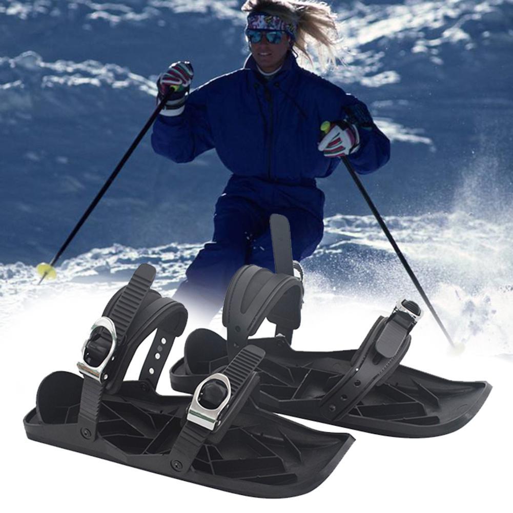 Adjustable Mini Sled Skates Outdoor Snowboard Skiing Boots Bindings Ski Shoes Snowboard Skiing Boots Bindings Ski Shoes Snowboar