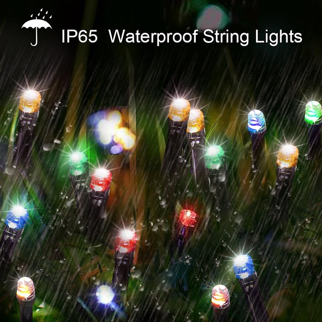 200 Led Solar Garland String Fairy Lights Outdoor 22M Solar Powered Lamp for Garden Decoration 3 Mode Holiday Xmas Wedding Party 2