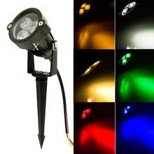 Landscape-Lighting Garden-Lamp IP65 Outdoor LED 3W 220v 9W RGB 110v DC12V