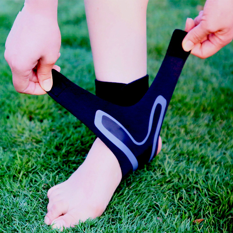 1 Piece Ankle Strap Sport Basketball Football Running Ankle Support Brace Compression Fitness Ankle Bandage Wrap Heel Protector in Ankle Support from Sports Entertainment