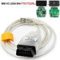 Мини-ВК V15.00.028 minivci FTDI для Toyota Techstream для J2534 Авто диагностический сканер OBD OBD2 автомобильный диагностический кабель MINI-VCI кабель