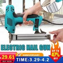 2300W Electric Staple Gun framing Straight Nail Heavy Duty Woodworking PowerTool