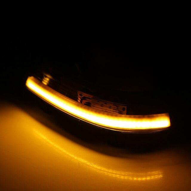 For VW GOLF 5 GTI V MK5 Jetta Passat B5.5 B6 Sharan Superb EOS Dynamic LED Turn Signal Light Side Wing Mirror Indicator