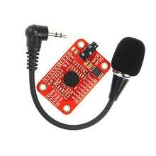 1set di Modulo di Riconoscimento Vocale V3 Velocità di Riconoscimento Supporto compatibile con Ard per Arduino 80 Tipi di Voce Scheda Audio