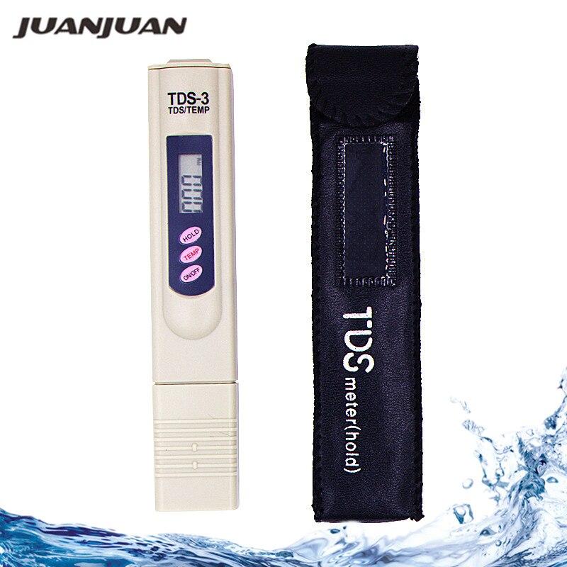 Skaitmeninis TDS matuoklio testeris Vandens kokybės tyrimui testerio tds matuoklis kalibruojamas sulaikant / tempiant 20%
