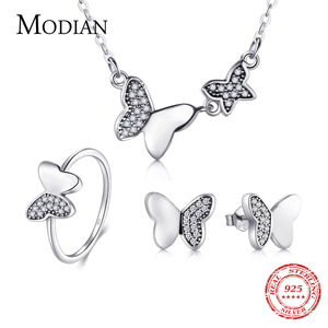 Modian 100% Real 925 Sterling