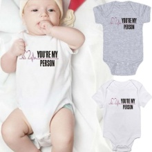 Jumpsuit Baby My-Person Gift Shower Fashion Wear Casual Unisex Drop-Ship You're Heartbeat