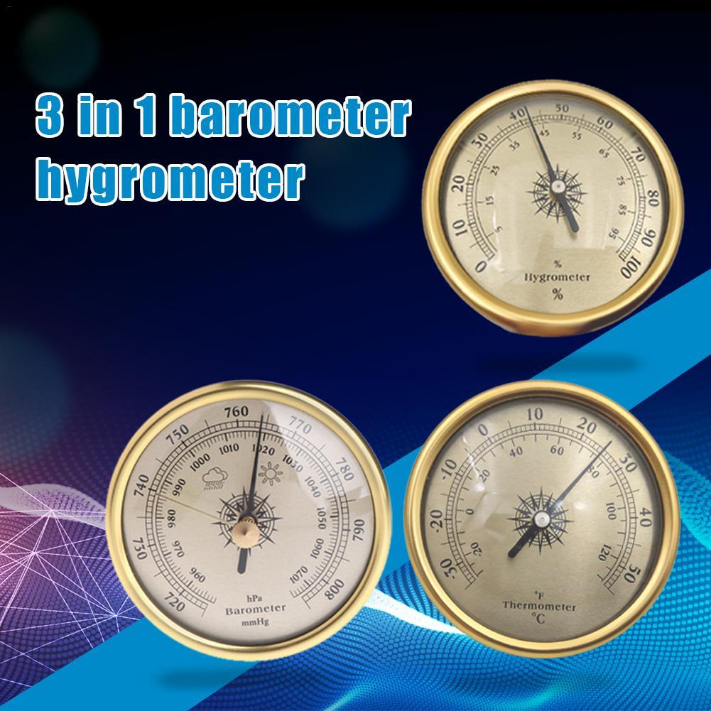 3 шт. 72 мм барометр гигрометр термометр для метеостанции атмосферного давления для домашнего использования